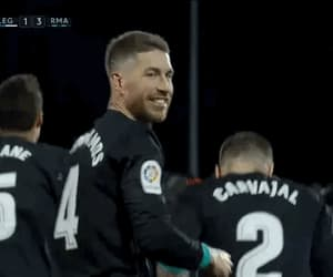 gif, sergio ramos, and real madrid image