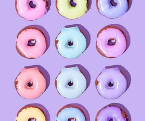 aesthetics, donuts, and pastel image