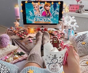 christmas, frozen, and holiday image