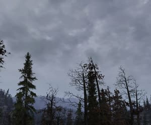 cloudy, fallout, and gray image