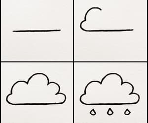 cloud, drawing, and cute image
