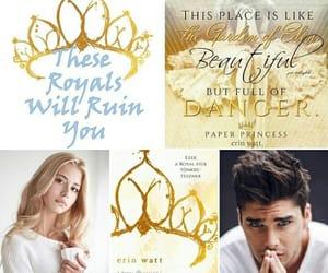 book, paper princess, and erin watt image