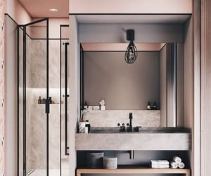 bathroom, home, and aesthetic image