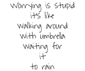 quote, quotes, and rain image