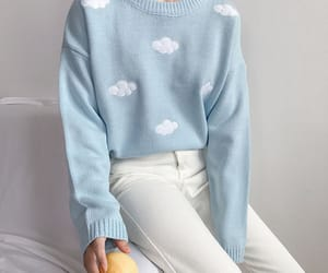 blue, aesthetic, and style image