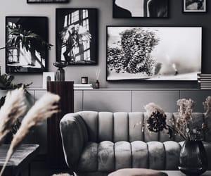 art, living area, and decor image