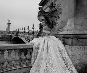 aesthetic, black, and bride image