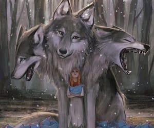 fantasy, girl, and illustration image