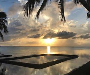 nature, ocean, and views image