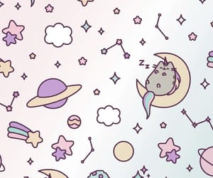 wallpaper and pusheen image
