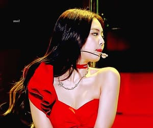 asian, gif, and jennie image