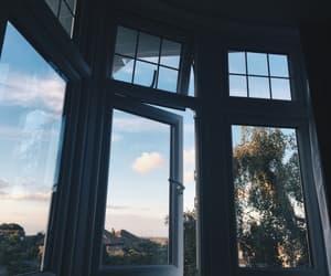 sky, window, and aesthetic image