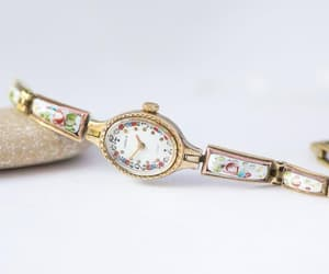 cocktail, floral, and montre femme image