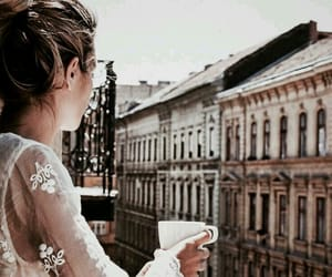 travel, chic, and coffee image