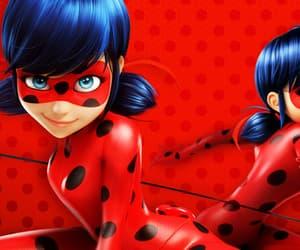 ladybug, miraculous, and tikki image