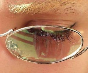 eye, glasses, and aesthetic image