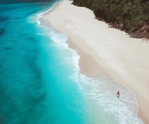 beach, beautiful, and Philippines image