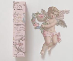 angel, makeup, and pink image