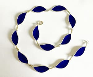 etsy, blue bracelet, and handcrafted jewelry image