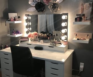 makeup and vanity image