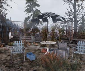 apocalypse, garden, and outdoors image