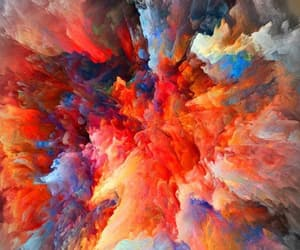 abstract, background, and colorful image