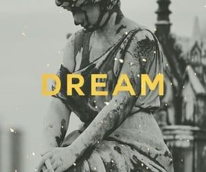 Dream, wallpaper, and statue image