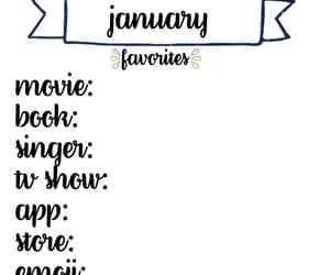 bullet, calender, and january image