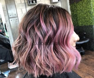 beauty, colorful, and hair image