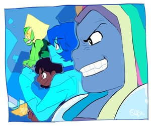 connie, lapis lazuli, and peridot image