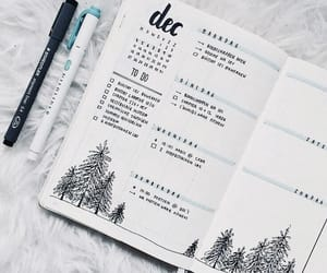 journal, bullet journal, and bujo image