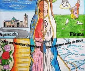 maria, catholic church, and igreja catolica image