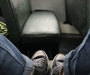 aesthetic, bus, and converse image