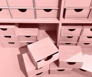 pink, box, and aesthetic image