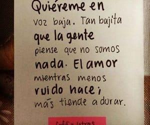 amor, quiereme, and voz baja image