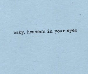 aesthetic, eyes, and quote image