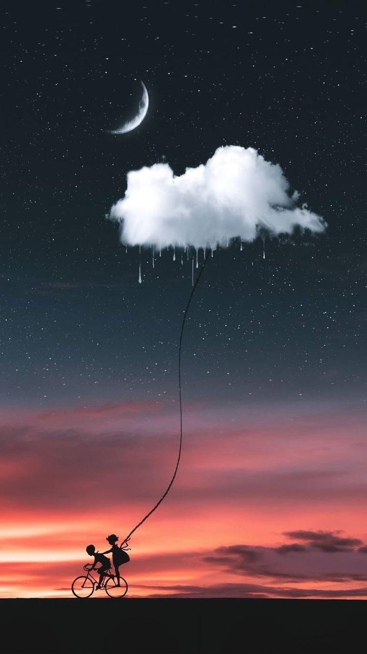 خلفيات سماء ونجوم للايفون