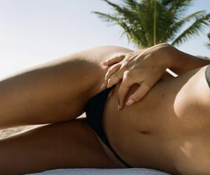 beach, alexis ren, and insta image