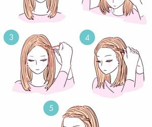 hair, facil, and peinado image