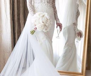 beautiful, fashion, and lace image