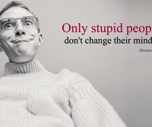 crazy, stupidity, and funny quotes image