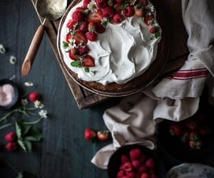 dessert, cake, and delicious image