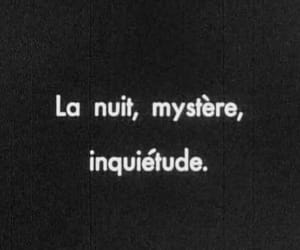 night, french, and mystery image