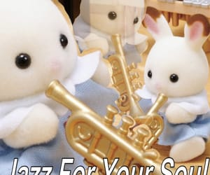 jazz, memes, and calico critters image