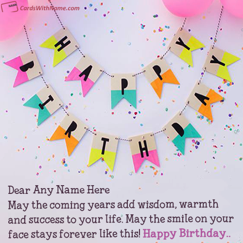 Fabulous Online Edit Happy Birthday Card With Name Photo Funny Birthday Cards Online Sheoxdamsfinfo