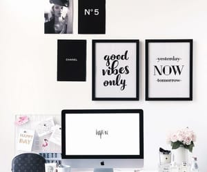 art, black-and-white, and decor image