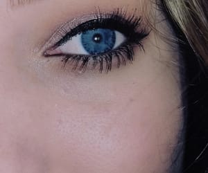 blue, blueeyes, and makeup image