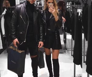 fashion, couple, and style image