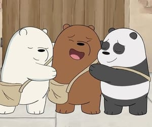 cartoon and we bare bears image