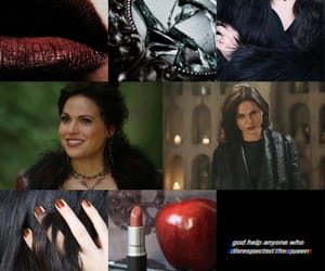 aesthetic, once upon a time, and the evil queen image